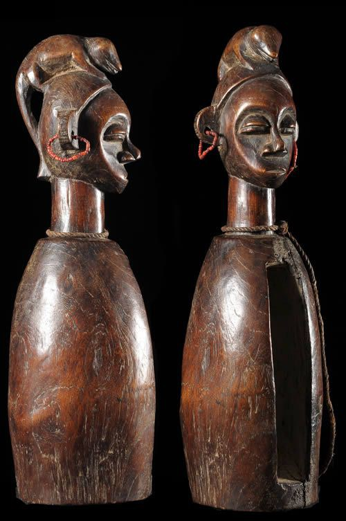 Tambour a fente - Yaka - RDC Zaire - Percussions