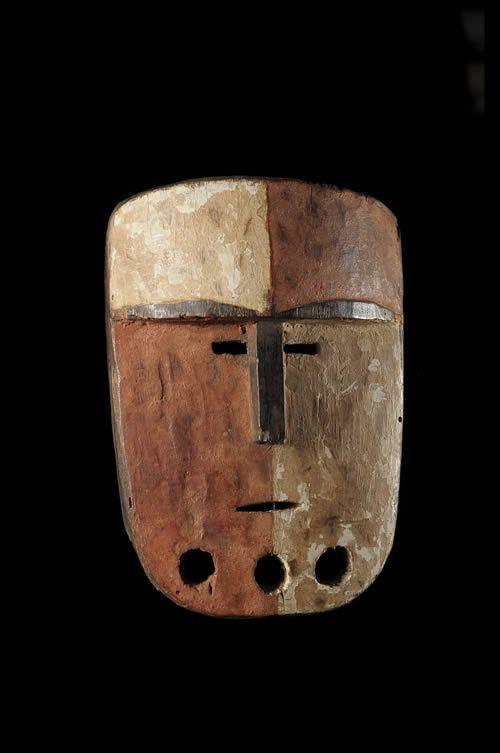 Masque Mwoudi Insigne - Ndzebi - Gabon / RDC Zaire