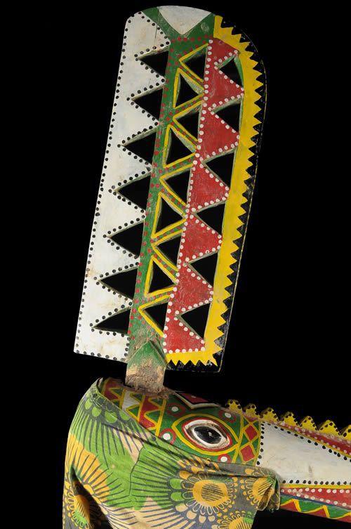 Marionnette Maaniw Oiseau - Bozo - Mali