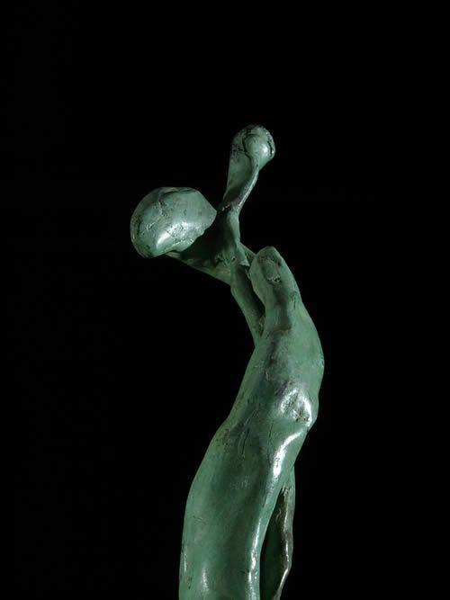 Patrice Balma - Le berger - Ouagadougou - Burkina Faso - Bronzes