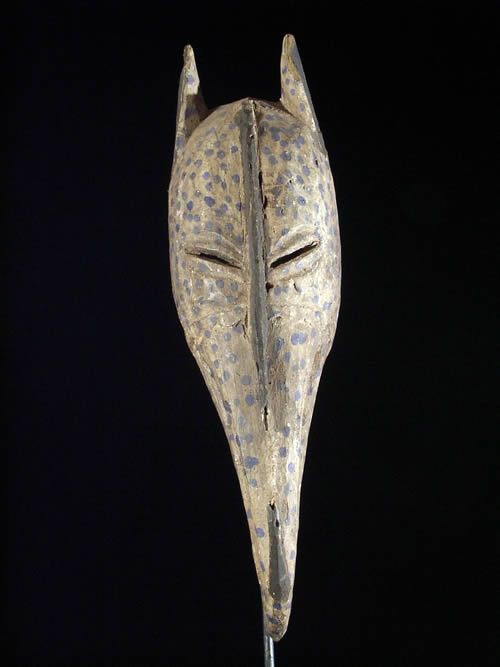 Masque Hyenne Calao - Dogons - Masques Dogons
