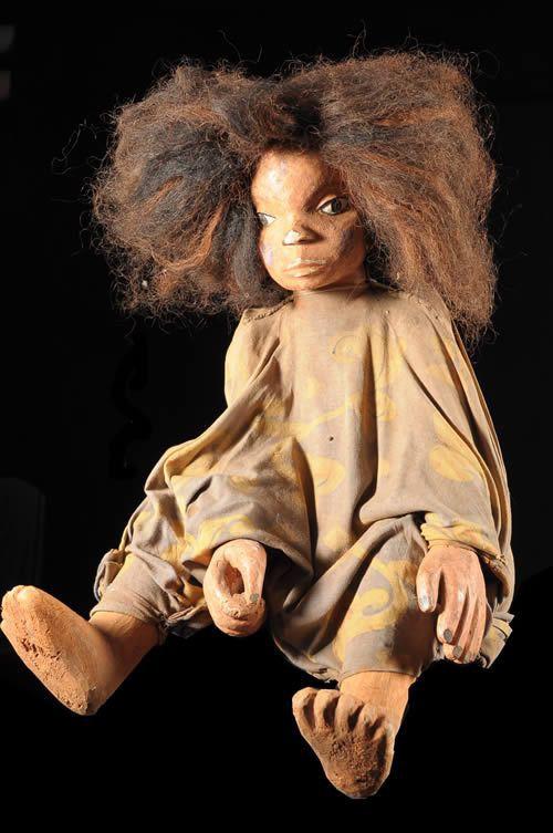 Marionnette Jeune Fille - Yoruba / Nago - Bénin