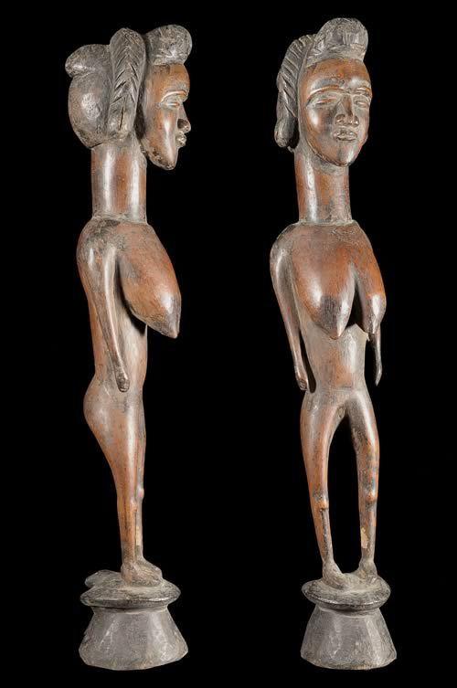 Statue Mere de village - Dan / Toura - Côte d'Ivoire