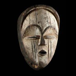 Masque blanc ancien -...