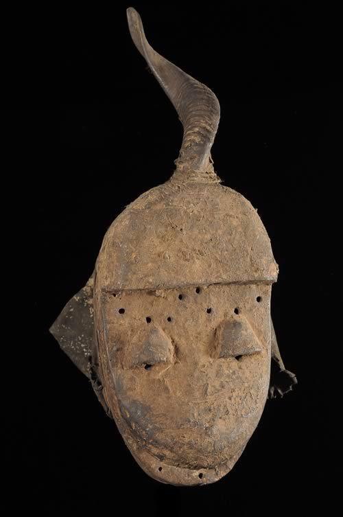 Masque Funeraire de Feticheur - Dan / Yacouba - Côte d'Ivoire