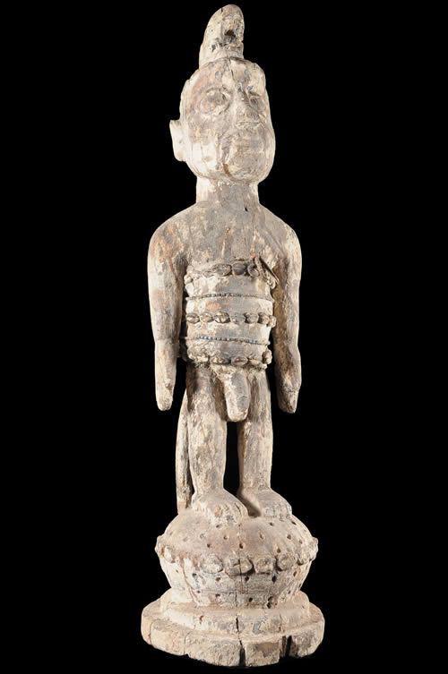 Statuette Trio Vaudou Culte Mami Wata - Ewe - Togo