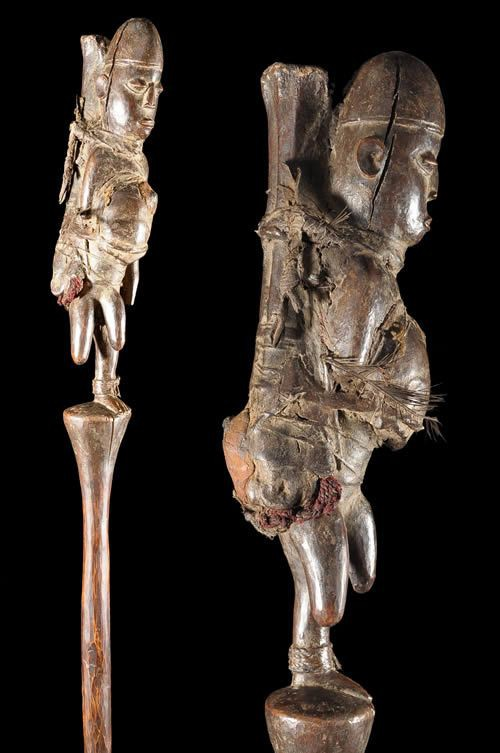 Sceptre de Guerisseur de Lepre - Mboshi / Kuyu - Congo