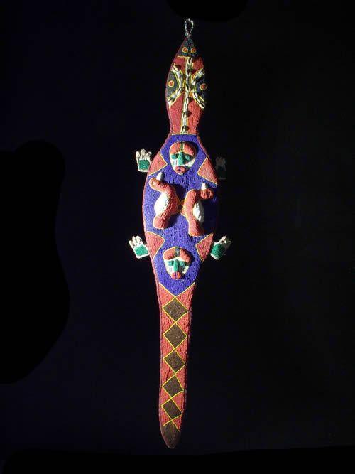 Decoration royale en perles Yoruba - Nigeria - Afrique