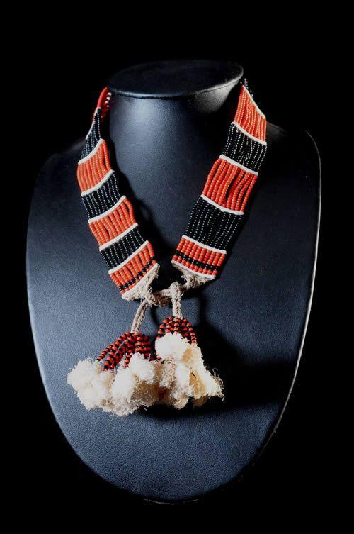 Collier de Perles et Fibres - Hammer - Ethiopie