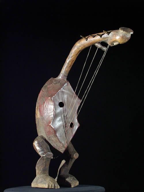 Harpe - Fang - Gabon - Instruments de musique africaine
