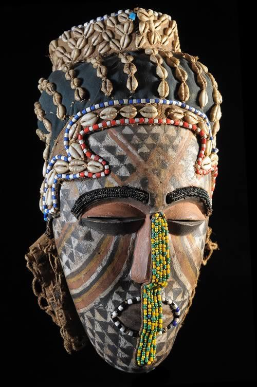 Masque Ngaady A waash - Kuba /Bushoong - RDC Zaire