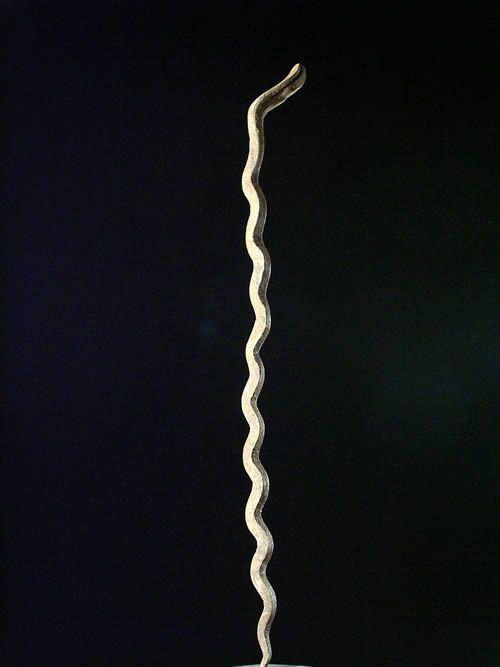 Fer d'autel - serpent fetiche Bitis - Lobi - Burkina Faso