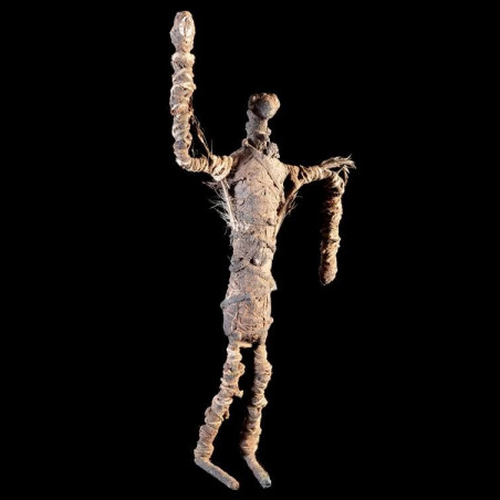 Statue figurant un gardien...