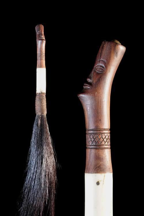 Chasse mouche - Mangbetu - RDC Zaire - Objets de regalia