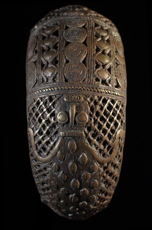 Bracelet Royal en Bronze - Bamoun / Tikar - Cameroun - Bronzes
