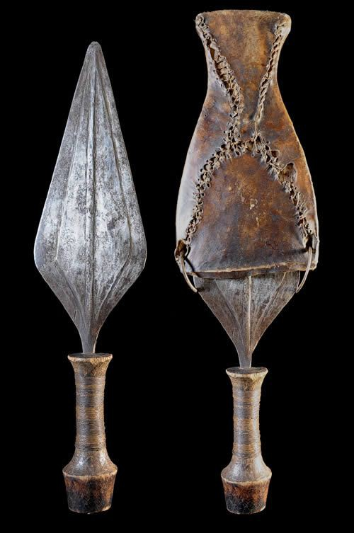 Couteau Glaive - Leka / Lengola - RDC Zaire