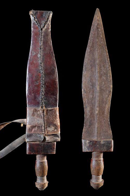 Couteau Glaive - Baoule - Côte d'Ivoire