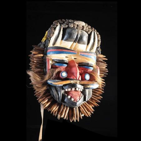 Masque Polychrome Sacre -...