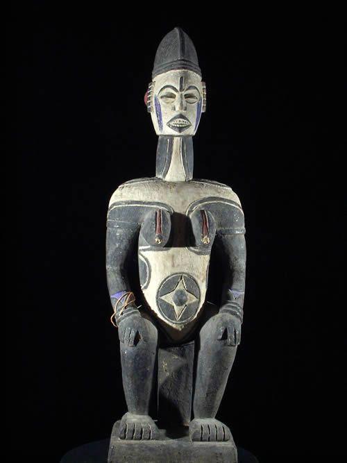 Statue Anjenu - Ethnie Idoma - Nigeria - Statues africaines