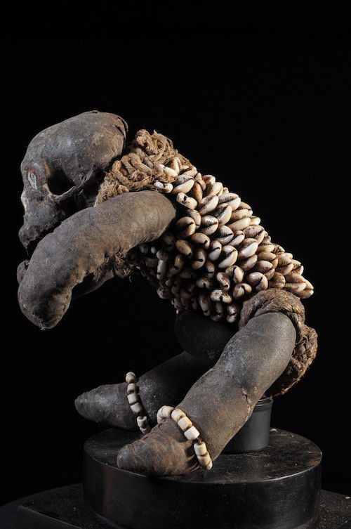 Reliquaire de chiffons Muzidi Singe - Bembe - RDC Zaire