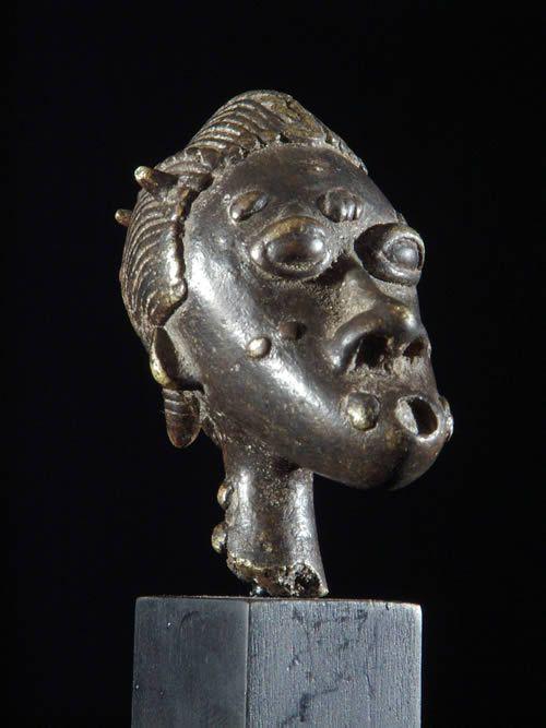 Fragment de bronze - Baoule - Côte d'Ivoire - Bronzes Africains