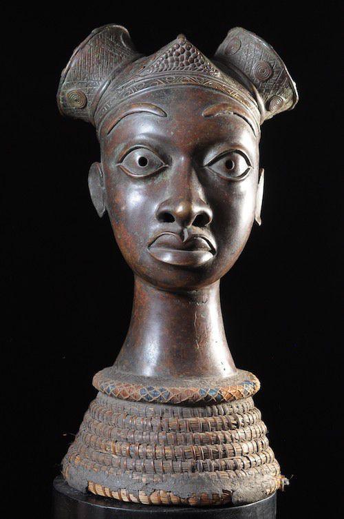 Tête commémorative féminine - Bini / Idoma - Nigeria