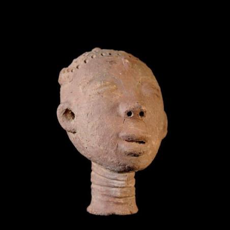 Tête funeraire - Ashanti -...