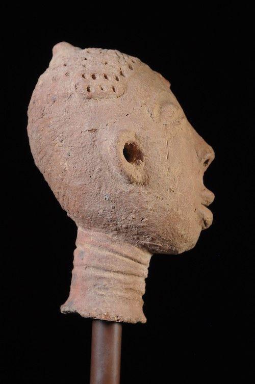 Tête funeraire - Ashanti - Ghana