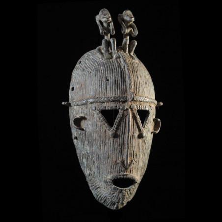 Masque facial en métal -...