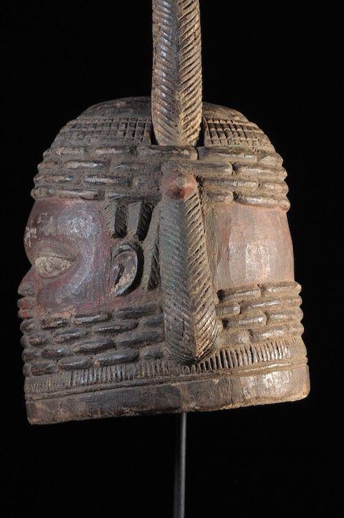 Masque cimier Ekpo - Bini - Nigeria