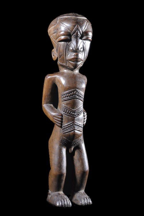 Statue anthropomorphe - Makonde - Tanzanie