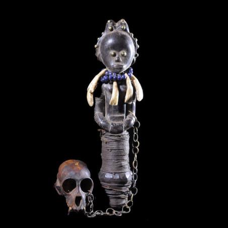 Buste poupée du Bwiti -...