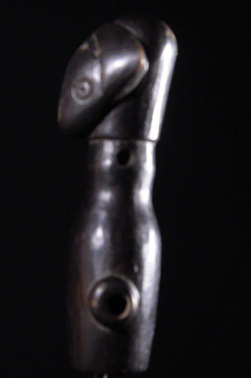 Sifflet en bois - Chokwe - RDC Zaire - Aerophones