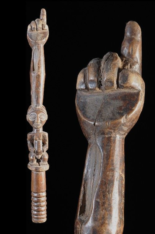 Sceptre de dignitaire - Hemba - RDC Zaire - Objets de regalia