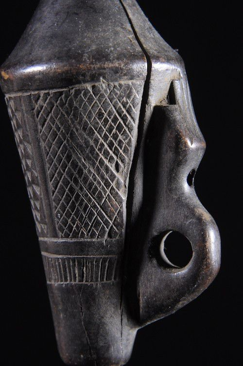 Flute en bois - Kuba - RDC Zaire - Aerophones