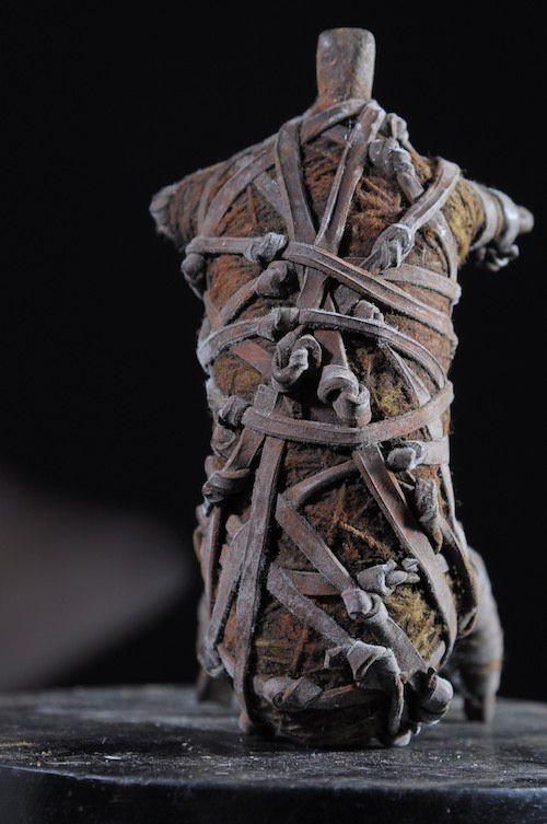 Fetiche protecteur arachnide - Fali - Cameroun