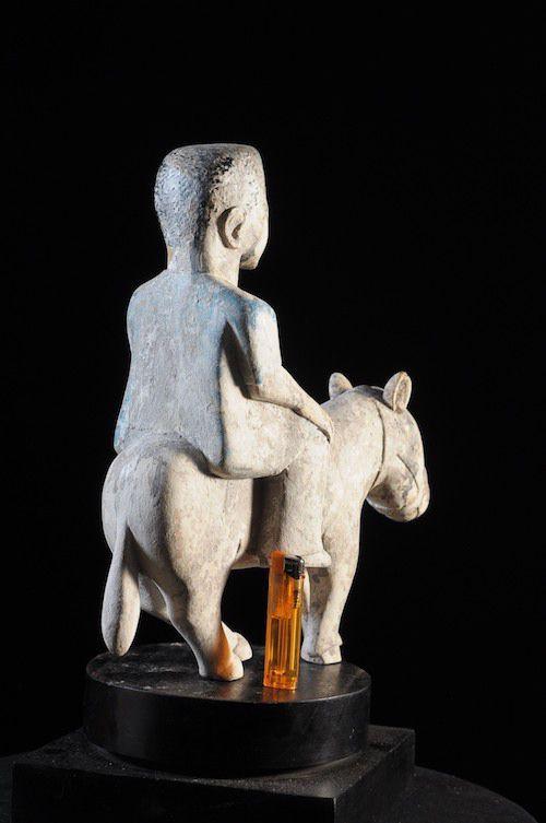 Cavalier et son cheval - Mami Wata  - Ewé / Ehwe - Togo