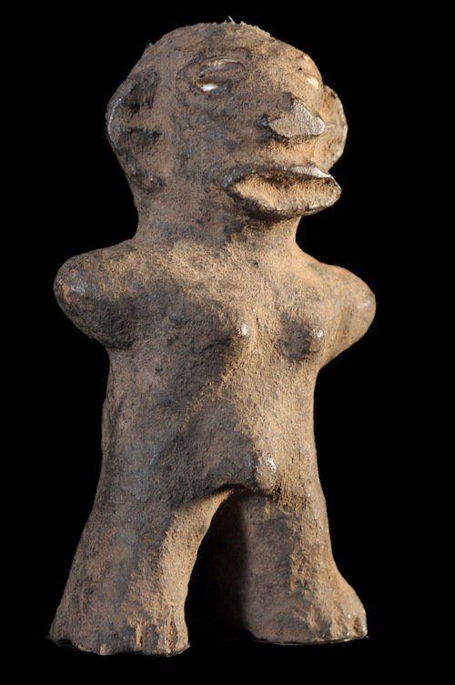Poterie Anthropomorphe Funéraire - Mossi - Burkina Faso