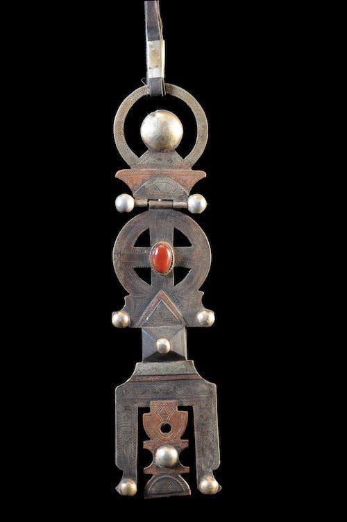 Cle de voile Asru N swul - Touareg - Mali