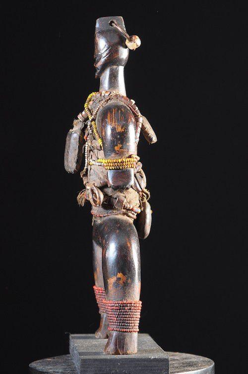 Poupee Namji - Nigeria / Cameroun - Poupee perles africaines