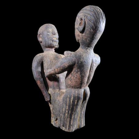 Statue cultuelle de couple...