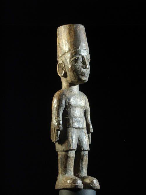 Colon Militaire - Ewe - Togo - Statue africaines