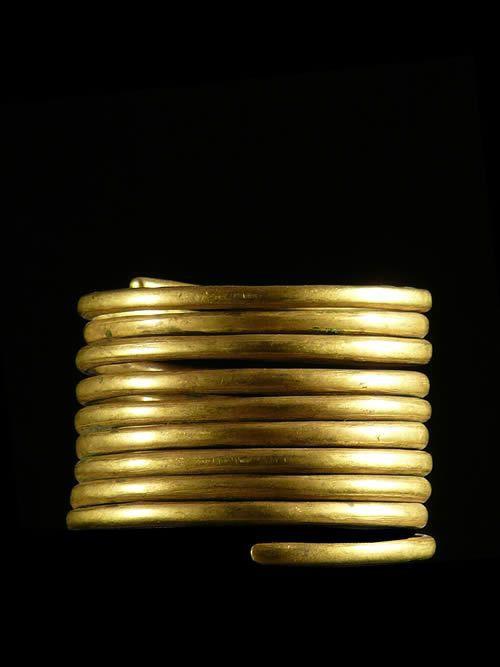 Bracelet en laiton - Toposa ou Pokot - Soudan / Kenya - Bijoux