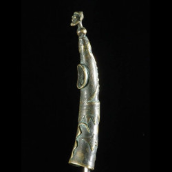 Trompe ou Olifant en bronze...