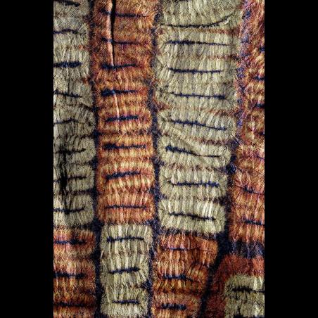 Foulard de tête en écorce...
