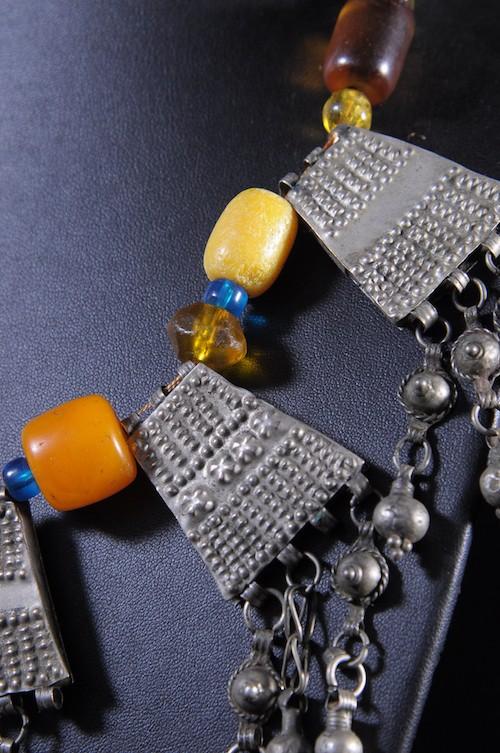 Collier en perles et métal  - Oromo - Ethiopie