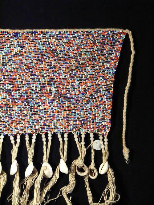 Cache sexe perles - Ethnie Kirdi - Cameroun- Cache sexe Africain