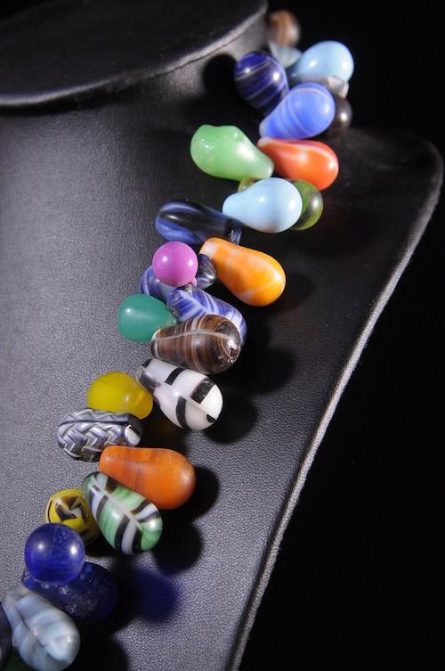 Collier monnaie de perles Prosser - Peul - Mali
