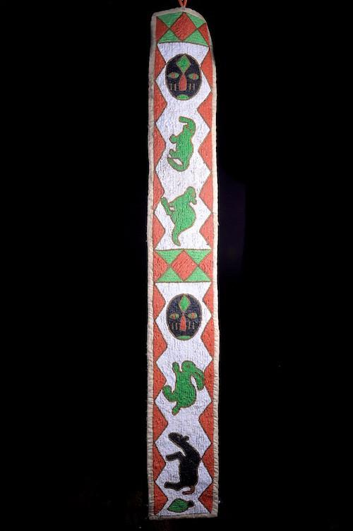 Bretelle de Tambour Iyalu - Yoruba - Nigéria