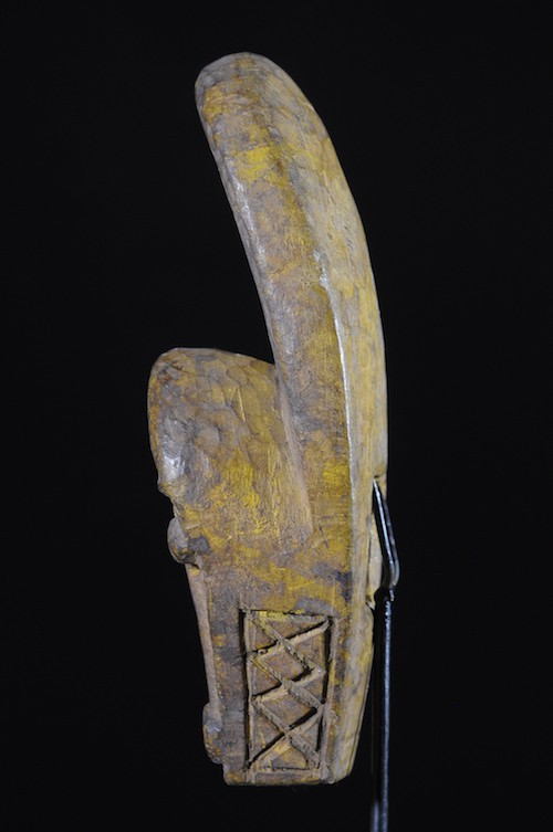 Masque de famille ou insigne - Baoule - Côte d'Ivoire